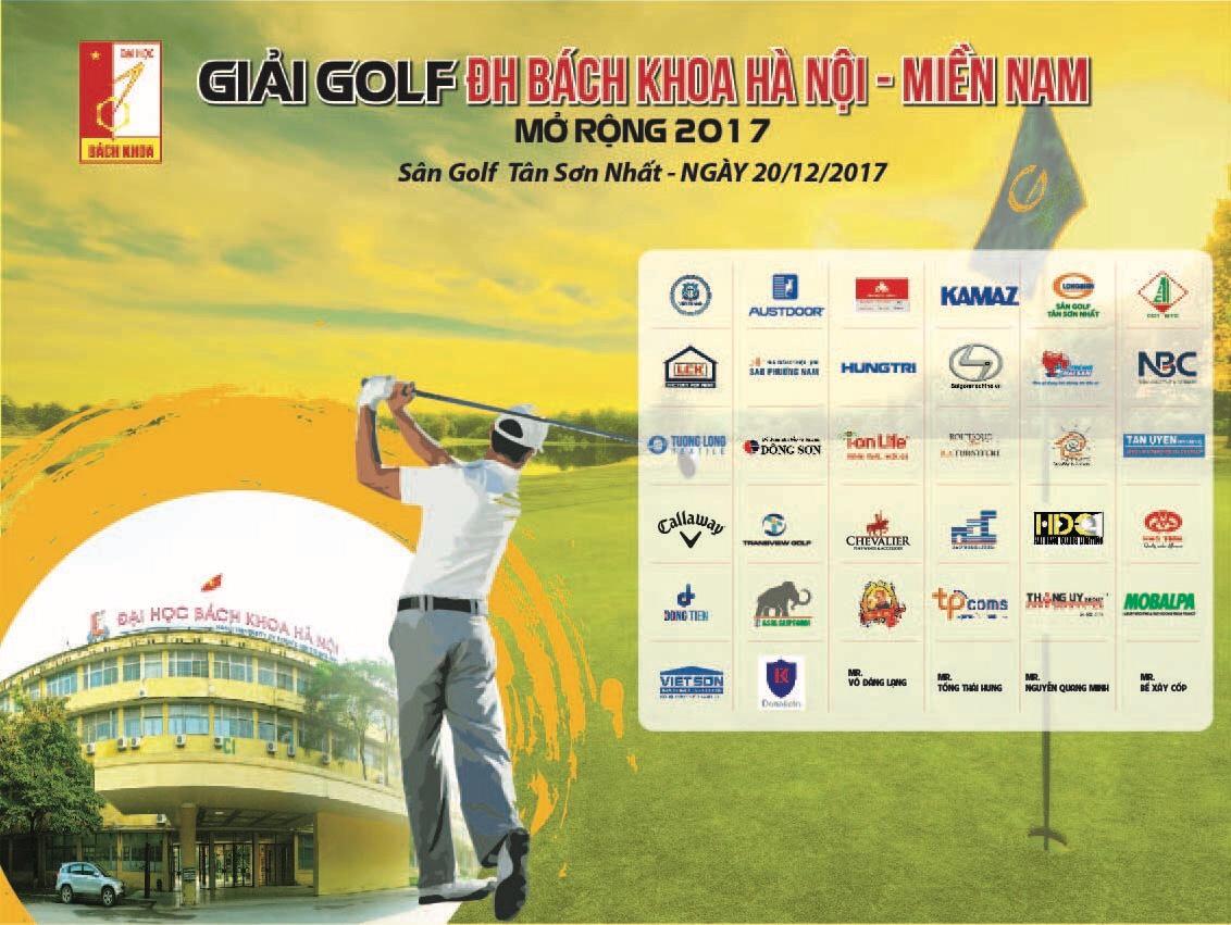 DonaKein hân hạnh là nhà tài trợ giải Golf Cựu SV Đại học Bách Khoa Hà Nội- Đà Nẵng- TP HCM