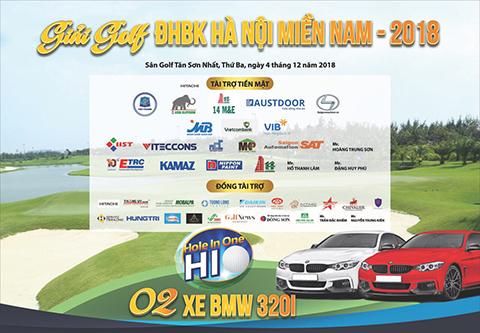 Đến hẹn lại lên, DonaKein đồng hành cùng giải Golf cựu SV BK 3 miền 2018