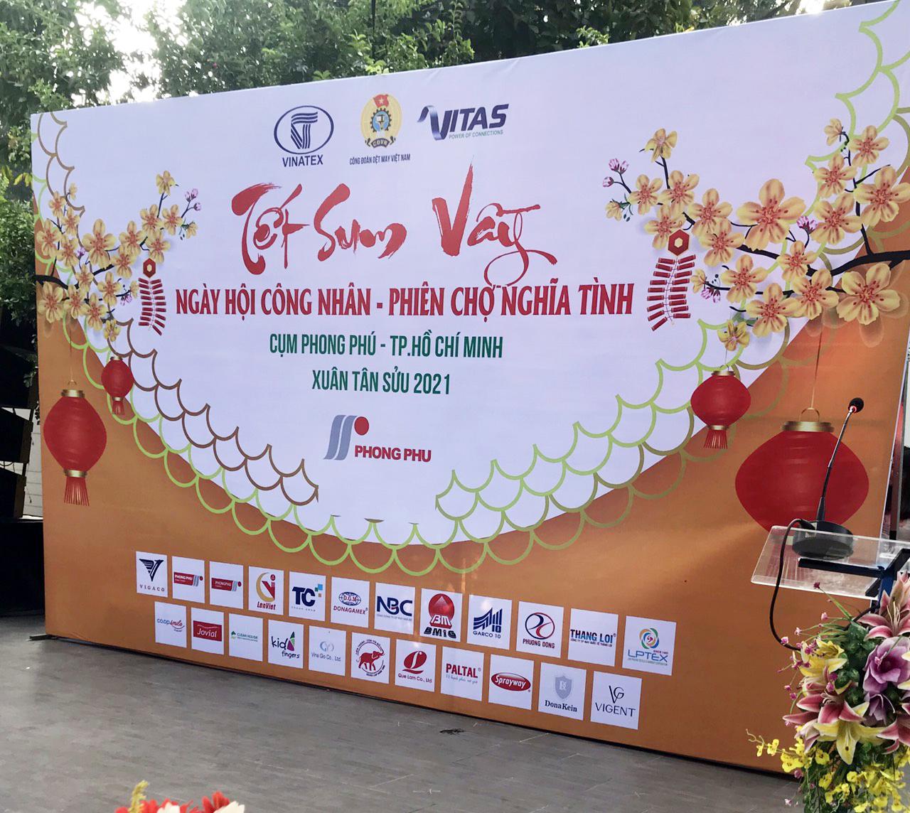 Ngày hội công nhân – Phiên chợ nghĩa tình Xuân Tân Sửu 2021